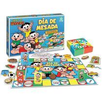 Jogo Dia De Mesada Turma Da Mônica Brinquedo Educativo Pedagógico Até 4 Jogadores 6 Anos Nig -