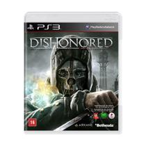 Jogo Dishonored - PS3 - Bethesda softworks