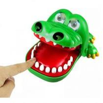 Jogo Divertido Crocodilo Dentista Polibrinq AN0025 -