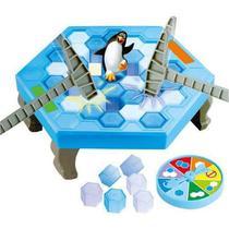 Jogo do Pinguim Quebra Gelo - Braskit -