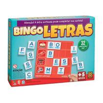 Jogo Educativo - Bingo das Letras - Grow -