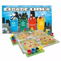 Jogo Educativo Cidade Limpa - 1175 Nig - -