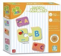 Jogo Educativo Descobrindo o Alfabeto - Coleção Be a Bá - Nig
