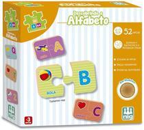 Jogo Educativo Descobrindo o Alfabeto, Madeira Be a Bá, Nig -