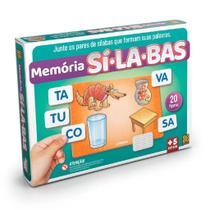 Jogo Educativo Memória Sílabas 01698 - Grow -