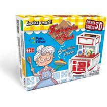 Jogo Educativo Quebra Cabeça 3D Fogãozinho da Vovó 19Pçs 2179 Pais e Filhos -