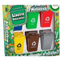 Jogo Educativo Reciclagem Lixeira Educativa Fenix -