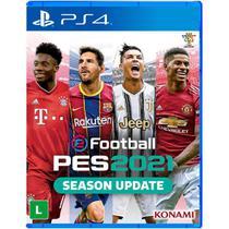 Jogo efootball pes 2021 - ps4 - Konami