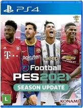 Jogo EFootball Pro Evolution Soccer 2021 Season Update - PS4 - Konami