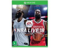 Jogo Electronic Arts NBA Live 2018 Xbox One Blu-ray (EA3038ON) - Eletronic Arts