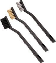 Jogo escova manual mini com 3 peças - Vonder -