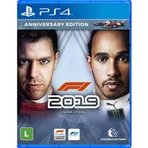 Jogo F1 2019 (Anniversary Edition) - PS4 - Codemasters -