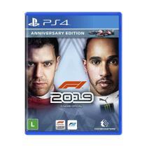 Jogo F1 2019 (Anniversary Edition) - PS4 - Codemasters