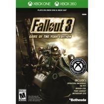 Jogo Fallout 3 GOTY Edition - Xbox 360 / Xbox One - Bethesda