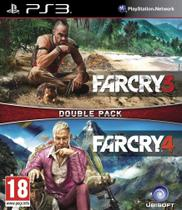 Jogo Far Cry 3 + Far Cry 4 Double Pack - PS3 - Ubisoft