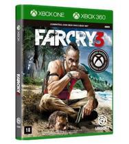 Jogo Far Cry 3 Xbox One / Xbox 360 Mídia Física - Lacrado - Ubisoft