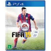 Jogo FIFA 15  Para Playstation 4, Sony (PS4) - Eletronic Arts -