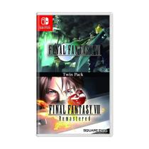 Jogo Final Fantasy VII  Final Fantasy VIII Remastered: Twin Pack - Switch - Square Enix