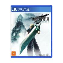 Jogo Final Fantasy VII Remake - PS4 - Square Enix