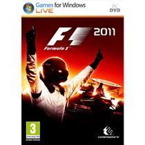 Jogo formula 1 2011 - pc - Codemasters
