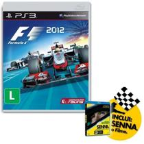 Jogo Formula 1 2012 PS3 + Senna O Filme Blue-ray - WB - Warner