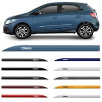 Jogo Friso Lateral Chevrolet Onix 2012 a 2020 Azul Branco Cinza Laranja Prata Preto Vermelho - Inbraca