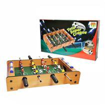 Jogo Futebol De Mesa Pebolim Totó Super Craque Dm Toys -