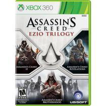 Jogo Game Assassins Creed: Ezio Trilogy - Xbox 360 BJO-437 - Rockstar games