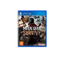 Jogo Game Metal Gear Survive PS4 - Konami - Microsoft