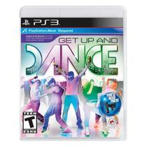Jogo Get Up And Dance - PS3 - O-games