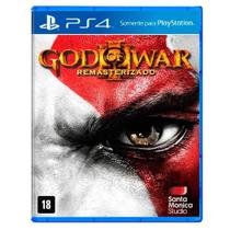 Jogo God Of War 3 Remastered - PS4 - Sony studios