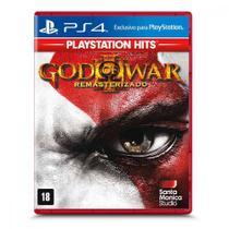 Jogo God Of War 3 Remastered Sony Playstation 4 Santa Monica Studio -