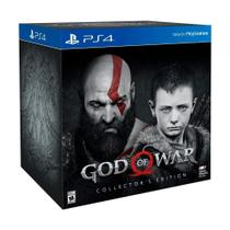 Jogo God of War (Collectors Edition) - PS4 - Sony