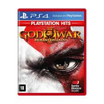 Jogo God of War III: Remasterizado - PS4 - Sony