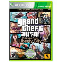 Jogo Grand Theft Auto: Episodes From Liberty City (GTA 4) - Xbox 360 - Rockstar games