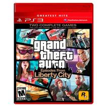 Jogo Grand Theft Auto: Episodes from Liberty City (GTA) - PS3 - Rockstar games