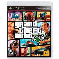Jogo Grand Theft Auto GTA V - PS3 - Rockstar Games