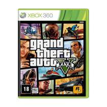 Jogo Grand Theft Auto GTA V - Xbox 360 - Rockstar Games