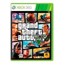 Jogo Grand Theft Auto - GTA V - Xbox 360 -