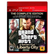 Jogo Grand Theft Auto IV - GTA 4 (The Complete Edition) - PS3 - Rockstar games