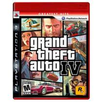Jogo Grand Theft Auto IV - PS3 - Rockstar games