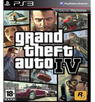 Jogo Grand Theft Auto IV PS3 - Take 2