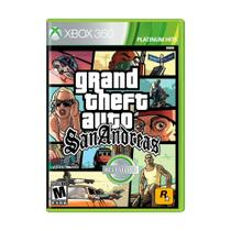 Jogo Grand Theft Auto: San Andreas - Xbox 360 - Rockstar games