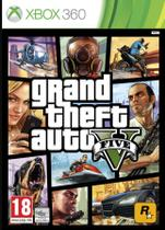 Jogo Grand Theft Auto V Five X360 - Take Two