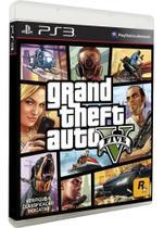 Jogo Grand Theft Auto V Gta 5 - PS3 - Rockstar Studios