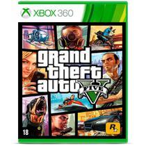 Jogo Grand Theft Auto V Gta 5 - Xbox 360 - Rockstar Games