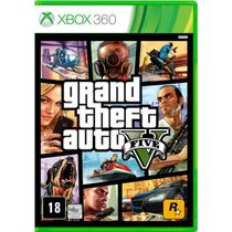 Jogo Grand Theft Auto V (GTA 5) - Xbox 360 - Rockstar games