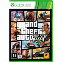 Jogo Grand Theft Auto V Gta 5 Xbox 360 - Rockstars