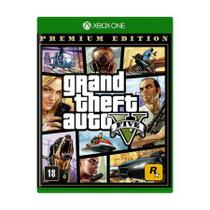 Jogo Grand Theft Auto V Premium Edition - GTA 5 - Xbox One - Rockstar Games