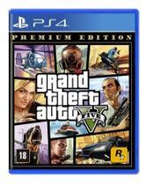 Jogo Grand Theft Auto V (Premium Edition) - PS4 - Rockstar